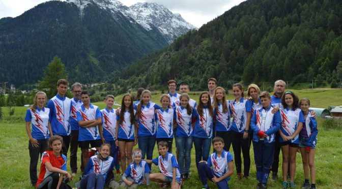 Летен лагер на ориентировачи от Търговище в Италия и Швейцария