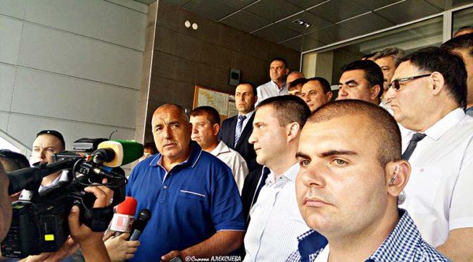 Бойко Борисов бе на работно посещение в Търговище