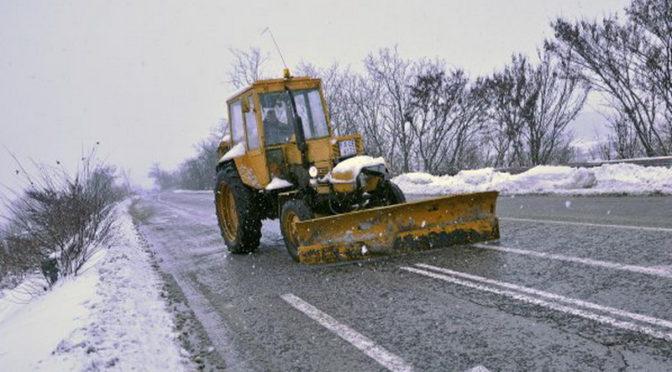 Пътищата в община Търговище са проходими при тежки зимни условия