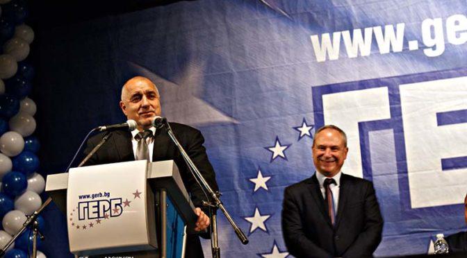 Бойко Борисов в Търговище: Нашата идеология е толерантност, равноправие, спазване на закона