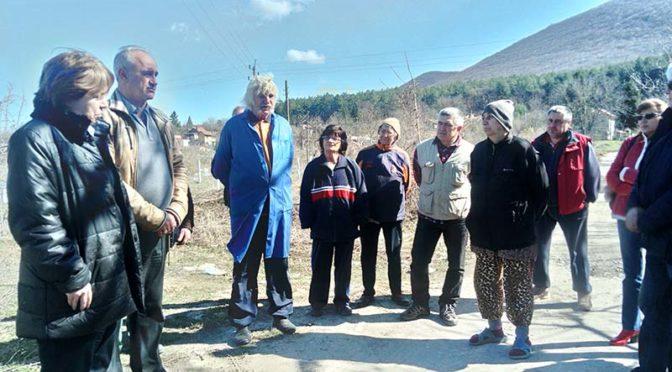 Проф. Светла Бъчварова се ангажира с разрешаването на проблема с електрозахранването на вилната зона в Търговище