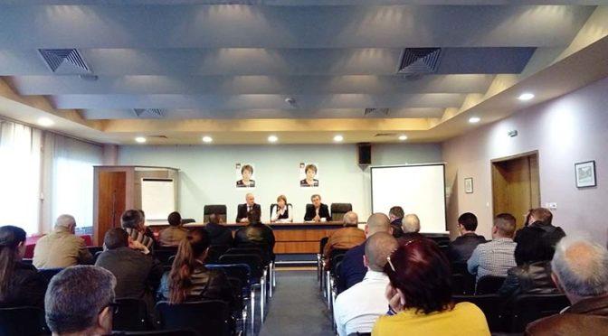 Проф. Бъчварова се срещна с преставители на бизнеса в Търговище