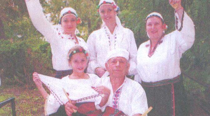 """Ние, от семейния състав """"Дядо, дъщеря, внучки и правнуци""""-2009"""