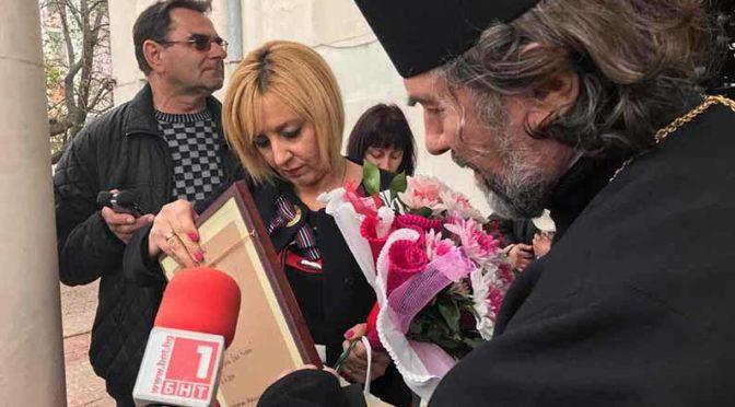 Омбудсманът Мая Манолова дари 400 пакета храна на социално слаби и възрастни хора в град Търговище