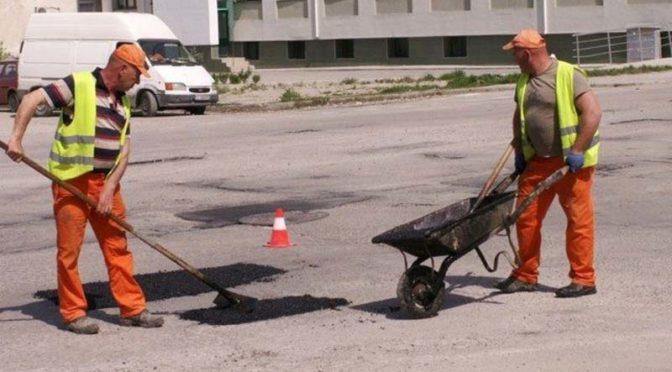 Продължават ремонтите на уличната мрежа в Търговище