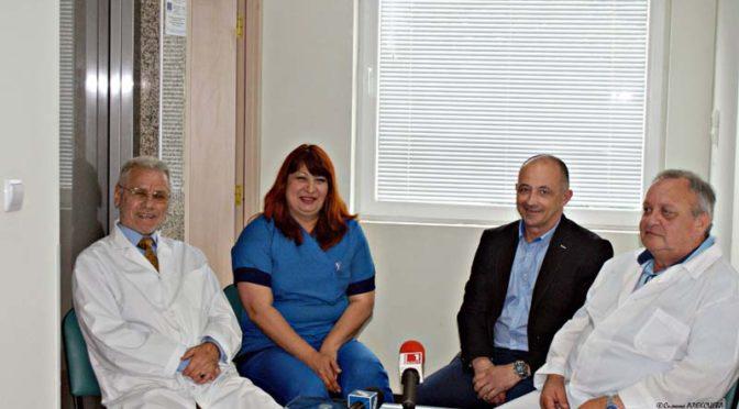 Три нови отделения откри поповската болница в Търговище