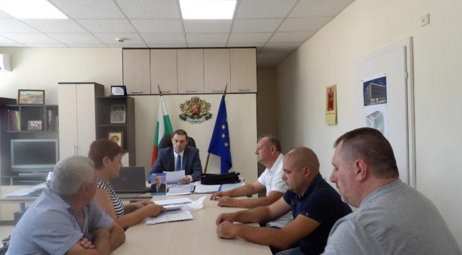 Митко Стайков се срещна с представители на Съюза на земеделските кооперации