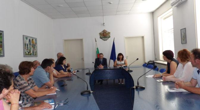 Работна среща във връзка с намаляването на административната тежест върху гражданите и бизнеса