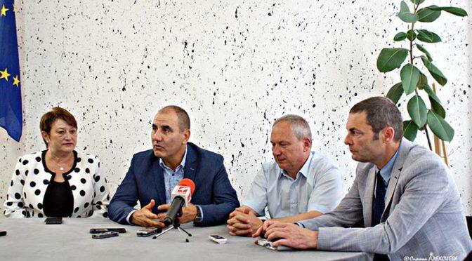 Цветан Цветанов посети Търговище и областта