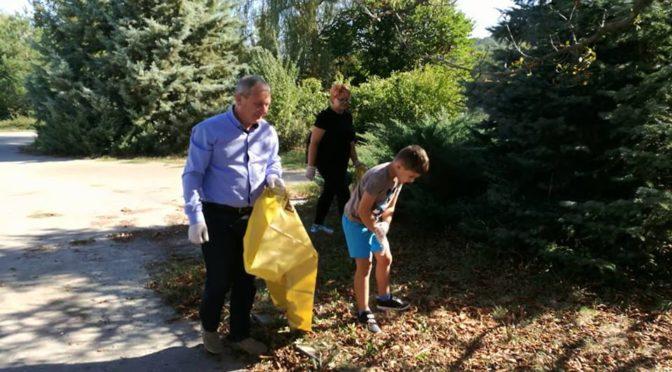 Над 22 тона отпадъци са събрани при почистването на Търговище
