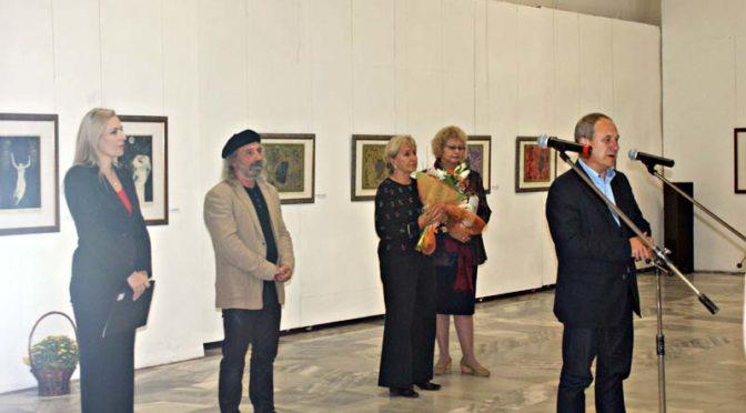 """""""Щедростта на един творец""""-изложба посветена на акад.Румен Скорчев"""