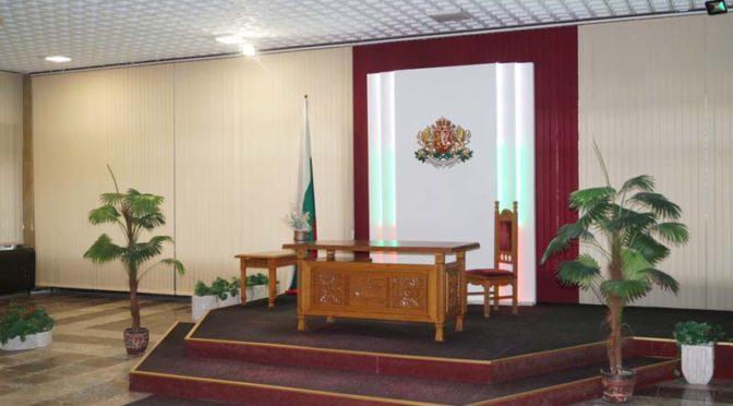 Община Търговище обнови ритуалната зала за сватбени церемонии
