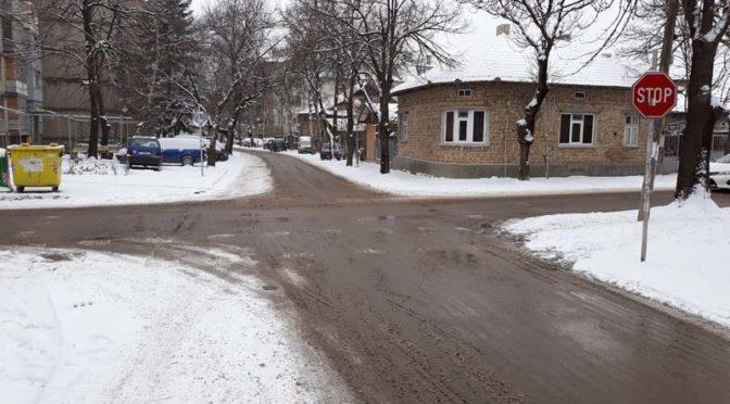 Зимната обстановка на територията на община Търговище е спокойна