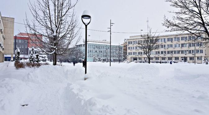 Нормализира се зимната обстановка на територията на община Търговище