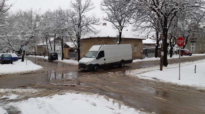 Зимната обстановка в общината е спокойна