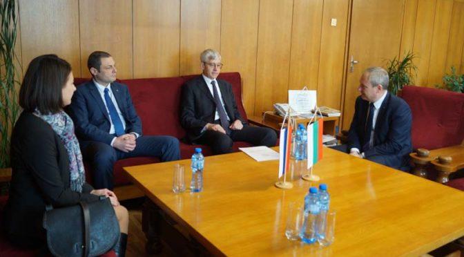 Генералният консул на Русия в Русе посети Община Търговище