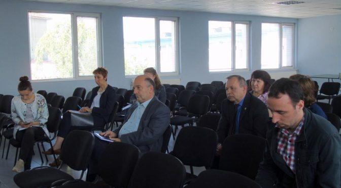 Областният управител участва в работна среща между Асоциация по ВиК и ВиК – Търговище