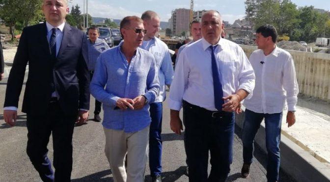 Бойко Борисов на посещение в Търговище