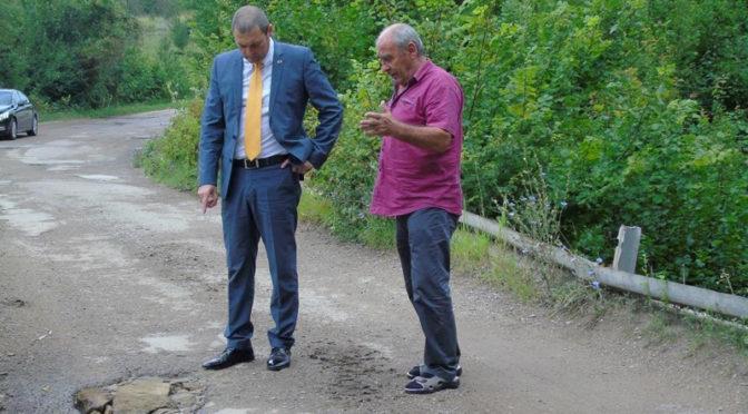 Областният управител разпореди ремонт на моста край антоновското село Любичево