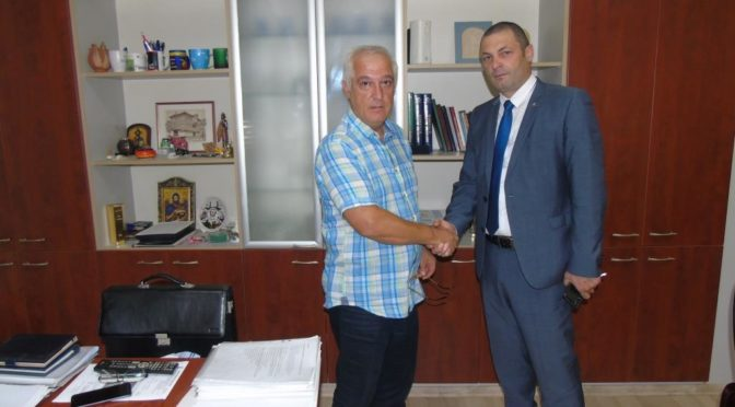 Областният управител съдейства на МБАЛ – Търговище да получи агрегат за резервно електрозахранване