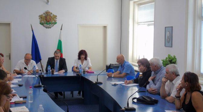Работна среща на Областният координационен център по Механизма за задържане на деца в училище