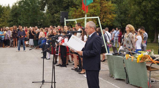 Успешна нова учебна година пожела кметът на Търговище