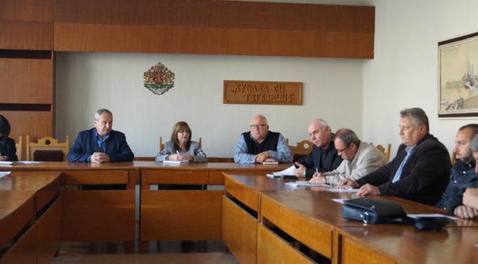 Заседава Общинският щаб за зимната подготовка