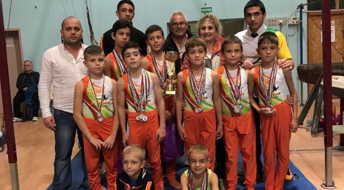 """За четвърта поредна година """"СК""""Торнадо"""" е на първо място отборно с над 50 медала  на турнира """"Седемте тепета"""" в Пловдив"""