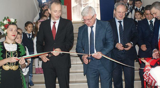 """Официално бе открита сградата на Първо ОУ """"Хр.Ботев"""" в Търговище"""
