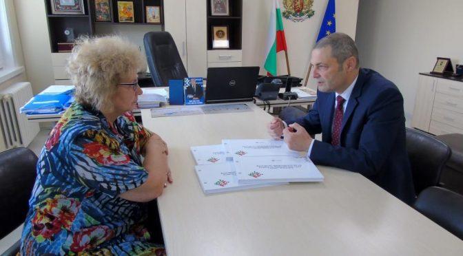 Специално издание на българското председателство на Съвета на ЕС за библиотеката в Търговище