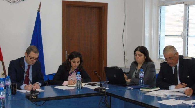 Заседание на Областната комисия по безопасност на движението по пътищата