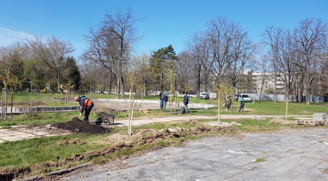 """Започва ремонт на парк """"Роден кът"""" в Търговище"""