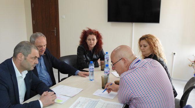 Областният управител проведе работна среща с министър Емил Димитров