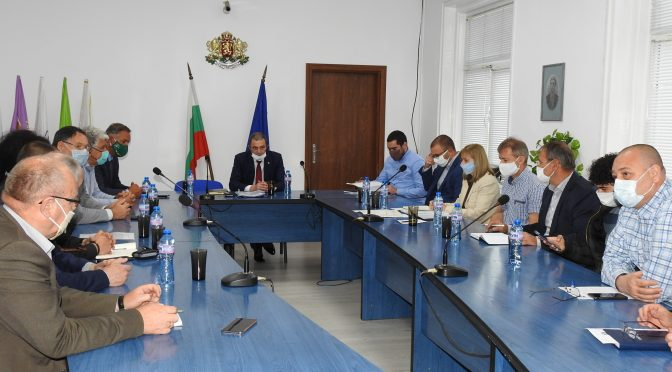 """Проведе се работна среща за Прединвестиционно проучване за доизграждане и реконструкция на ВС """"Дунав"""""""