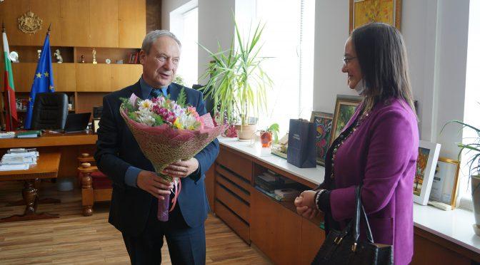 Генералният консул на Турция в Бургас посети Търговище