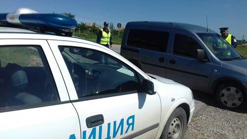 Извършител на кражба е задържан в хода на проведена специализирана операция за противодействие на  битовата престъпност в две села в община Попово