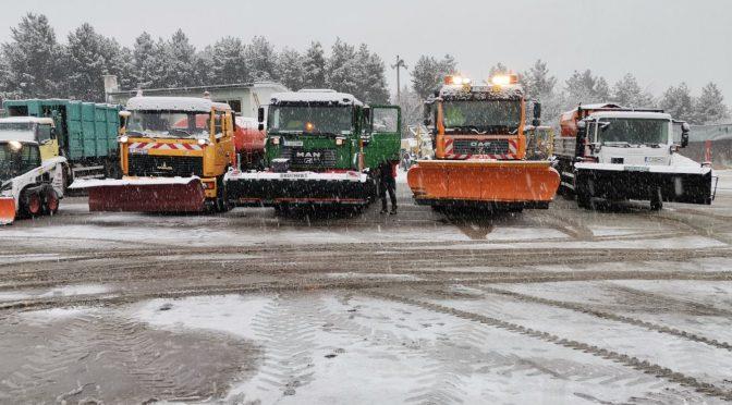 Зимната обстановка в община Търговище е спокойна