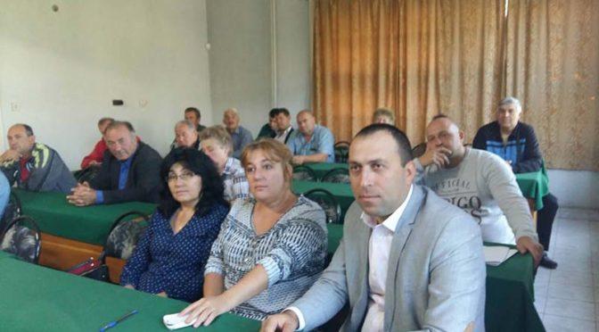 Областният управител Светлин Бонев присъства на Областния консултативен съвет по животновъдство