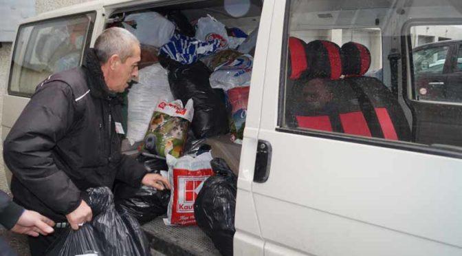 Община Търговище транспортира първите дарения за Хитрино