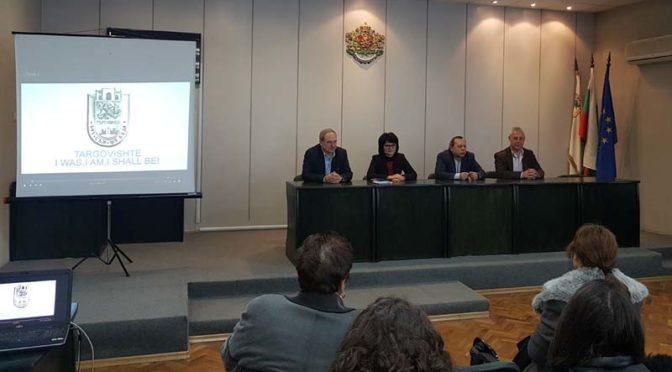 Кметът на Търговище разговаря с ученици за общинските мерки за привличане на инвеститори