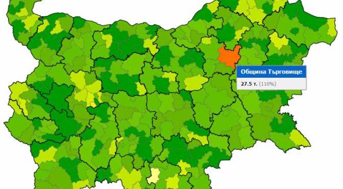 Община Търговище с 6-та позиция в рейтинга за прозрачност на общините в България