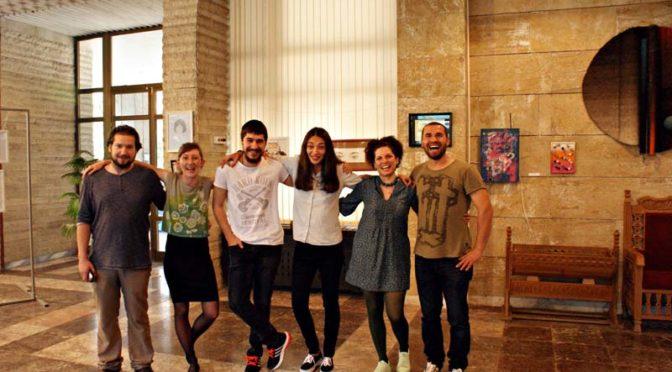 """Млади хора от Търговище представиха изложбата """"Експериментален проект"""""""