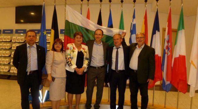 Представители на местната власт от Търговище посетиха Европейския парламент