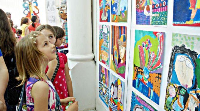 Школата за изобразително изкуство към ОДК с годишна продукция