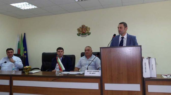 Новият кмет на Община Антоново Хайредин Мехмедов положи клетва