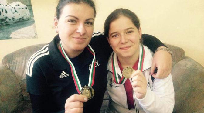 Първа титла за Мирослава Минчева на европейското по спортен пистолет за девойки