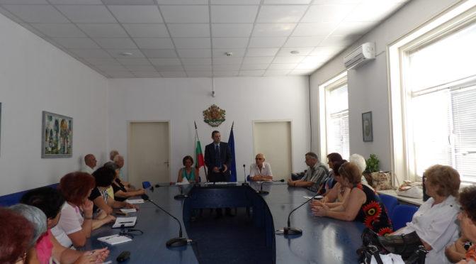 Митко Стайков проведе среща  с членовете на Общинския съюз на пенсионерите в Търговище