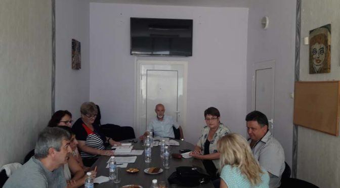 Д-р Венка Стоянова участва в работна среща между експерти