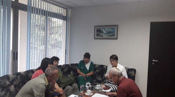 д-р Венка Стоянова проведе среща  със специалисти от системата за спешна помощ