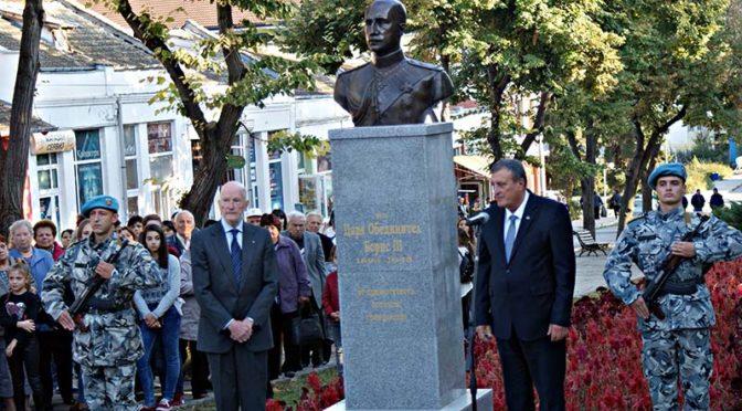 Възстановиха паметника на Цар Борис III в Попово